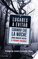 libro Lugares A Evitar Cuando Cae La Noche