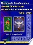 Historia De España En Los Juegos Olímpicos De Verano De La Era Moderna Iii (1986 2004)