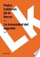 libro La Inmunidad Del Sagrado