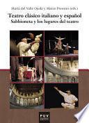 libro Teatro Clásico Italiano Y Español