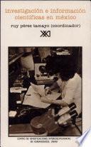 libro Investigación E Información Científicas En México