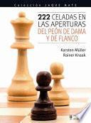 libro 222 Celadas En Las Aperturas Del Peón De Dama Y De Flanco