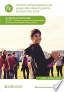 libro Contextualización Del Tiempo Libre Infantil Y Juvenil En El Entorno Social. Sscb0211