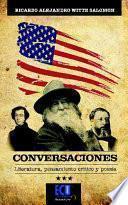 libro Conversaciones. Literatura Pensamiento Crítico Y Poesía