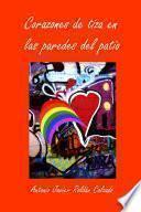 libro Corazones De Tiza En Las Paredes Del Patio
