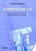libro Curriculum Xxi