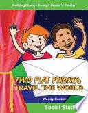Dos Amigos Planos Viajan Por El Mundo (two Flat Friends Travel The World)