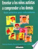 libro Enseñar A Los Niños Autistas A Comprender A Los Demás