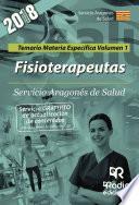 libro Fisioterapeutas. Servicio Aragonés De Salud. Temario Materia Específica Volumen 1