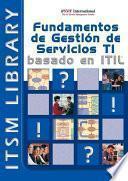 libro Fundamentos De Gestion De Servicios Ti Itilv2