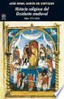 libro Historia Religiosa Del Occidente Medieval