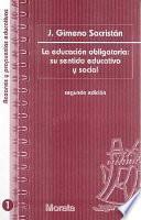 libro La Educación Obligatoria