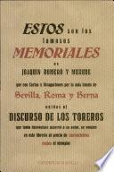 libro Memoriales Y Divagaciones