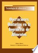 libro Operaciones Unitarias En La Ingeniería De Alimentos