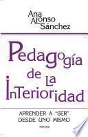 libro Pedagogía De La Interioridad
