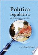 libro Política Regulativa