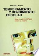 libro Temperamento Y Rendimiento Escolar