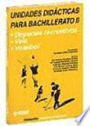 libro Unidades Didácticas Para Bachillerato Ii