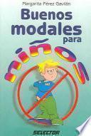 libro Buenos Modales Para Niños