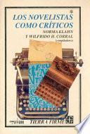 libro Los Novelistas Como Críticos