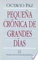 Pequena Cronica De Grandes Dias/ Little Cronical Of Great Days