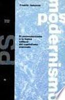 El Posmodernismo O La Lógica Cultural Del Capitalismo Avanzado