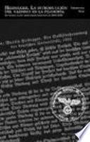 libro Heidegger. La Introducción Del Nazismo En La Filosofía