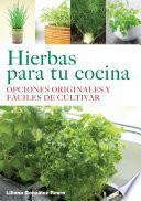 libro Hierbas Para Tu Cocina