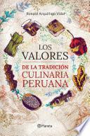 libro Los Valores De La Tradición Culinaria Peruana