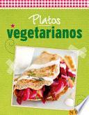 libro Platos Vegetarianos