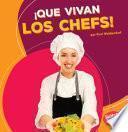 libro ¡que Vivan Los Chefs!
