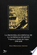 La Frontera Occidental De La Audiencia De Quito