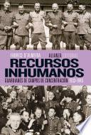 libro Recursos Inhumanos