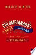 libro Colombianadas Para Llevar
