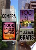 libro Compra 1000 Chistes Para Partirse Y Llévate Gratis 100 Reglas Para Aumentar Tu Productividad
