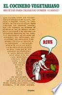 libro El Cocinero Vegetariano