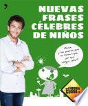 libro Nuevas Frases Célebres De Niños