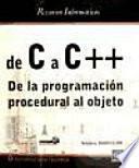 De C A C++