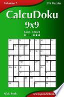 libro Calcudoku 9x9   De Fácil A Difícil   Volumen 7   276 Puzzles