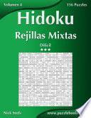 Hidoku Rejillas Mixtas   Difícil   Volumen 4   156 Puzzles