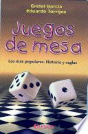 libro Juegos De Mesa