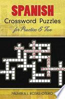 libro Spanish Crossword Puzzles For Practice And Fun