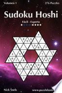 libro Sudoku Hoshi   De Fácil A Experto   Volumen 1   276 Puzzles