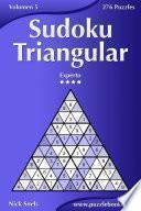 libro Sudoku Triangular   Experto   Volumen 5   276 Puzzles