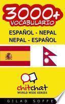 libro 3000+ Español   Nepal Nepal   Español Vocabulario