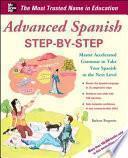 libro Advanced Spanish Step By Step