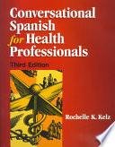 libro Conversational Spanish For Health Professionals