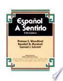 libro Español, A Sentirlo