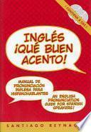 libro Ingles Que Buen Acento