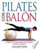libro Pilates Con Balón